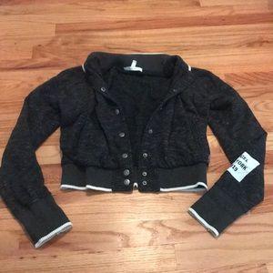 Victoria's Secret Gray Bomber Jacket Size S